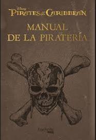 Libro Manual del Pirata (Piratas del Caribe)