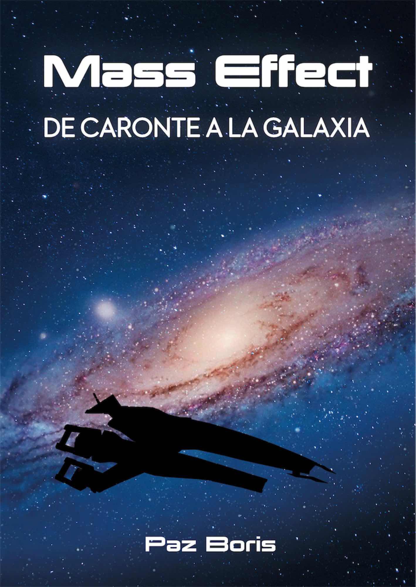Libro Mass Effect de caronte a la Galaxia