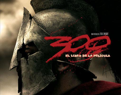 Libro Película 300