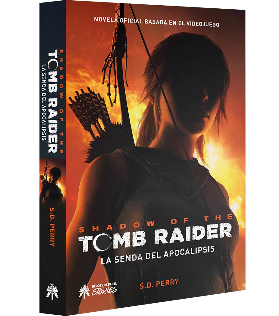 Libro Shadow of the Tomb Raider. La senda del Apocalipsis