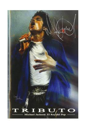 Libro Tributo. Michael Jackson: el rey del pop