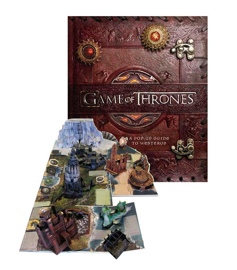 Libro pop-up 3D A Pop-Up Guide to Westeros. Juego de Tronos. Edición inglés