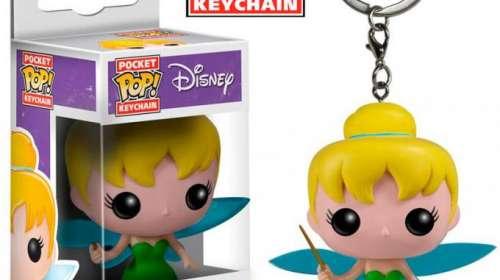 Llavero Campanilla 4 cm. Línea POP!. Disney. Funko