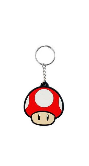 Llavero Mushroom. Súper Mario Bros
