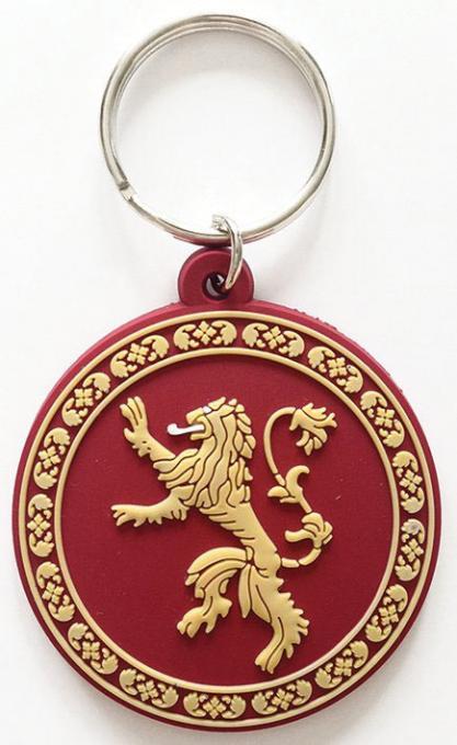 Llavero caucho casa Lannister 6 cm. Juego de Tronos