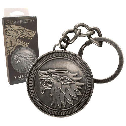 Llavero escudo casa Stark. Juego de Tronos. Noble Colection