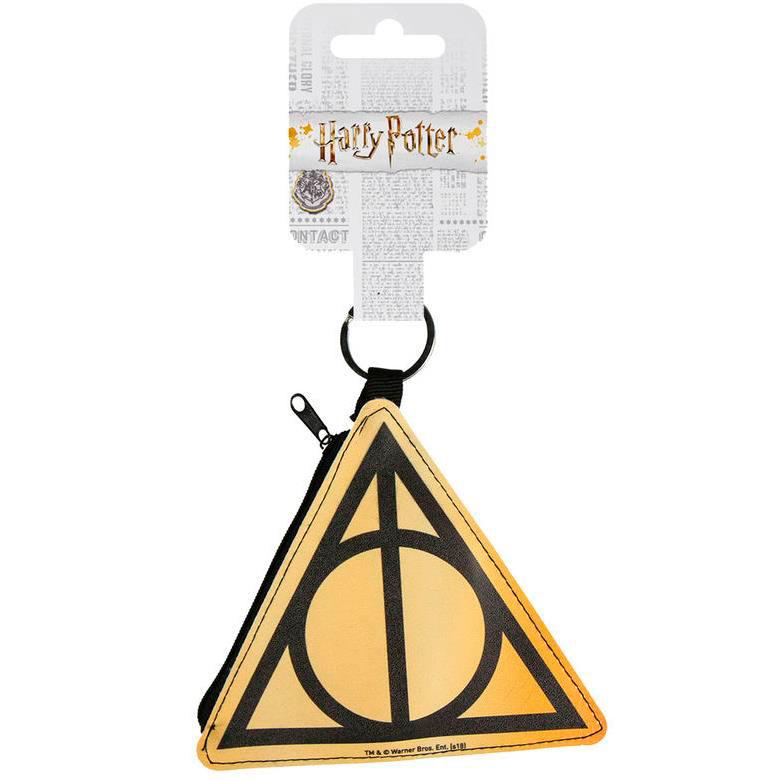 Llavero monedero Harry Potter. Deathly Hallows 10 cm
