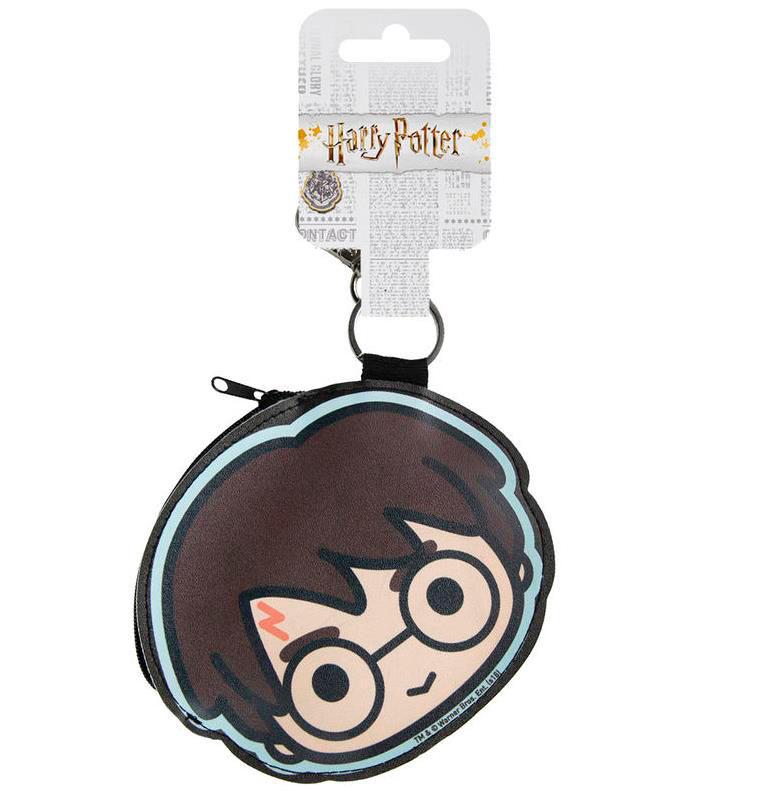 Llavero monedero Harry Potter. Rostro 11 cm