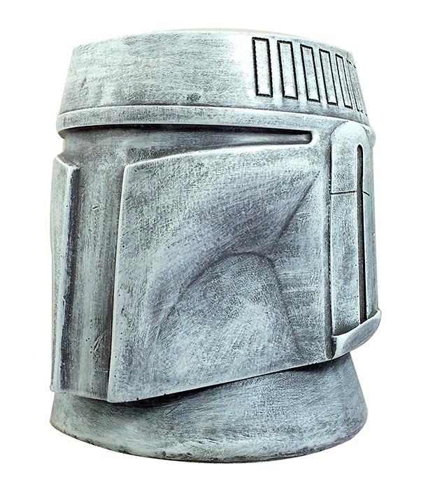 Maceta casco Boba Fett 15 cm