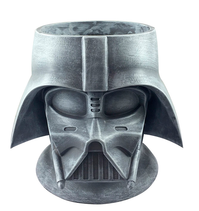 Maceta casco Darth Vader 25 cm
