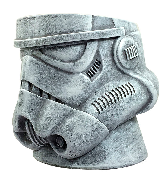 Maceta casco Stormtrooper 15 cm