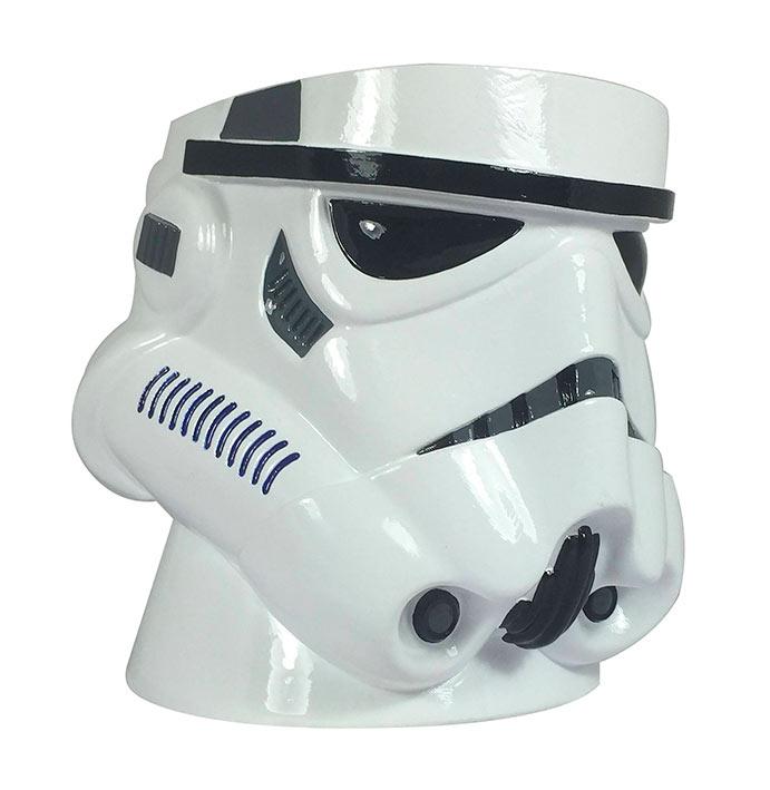 Maceta casco Stormtrooper 25 cm