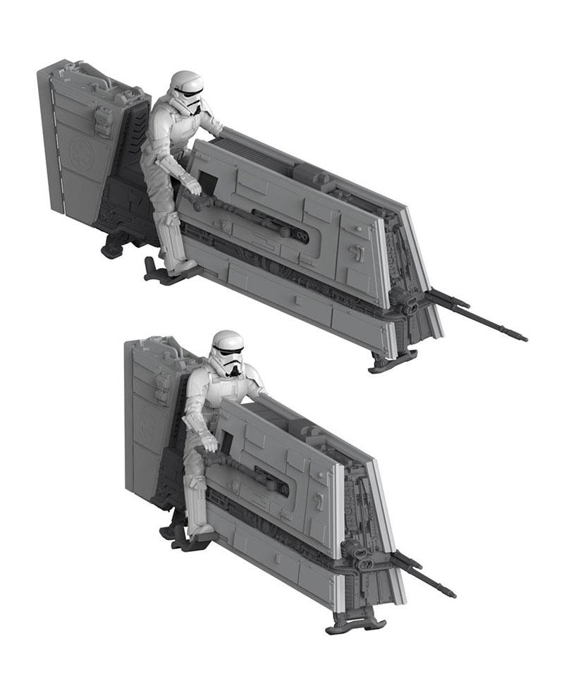 Maqueta Imperial Patrol Speeder 19 cm. Han Solo: Una Historia de Star Wars. Con sonido. Escala 1:28. Revell