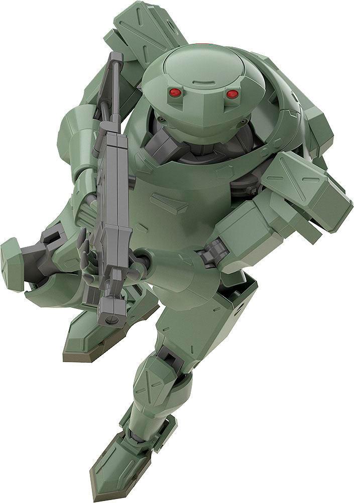 Maqueta Moderoid Plastic Model Kit Rk-91/92 Savage (Olive) 13 cm. Full Metal Panic!. Moderoid. Good Smile Company