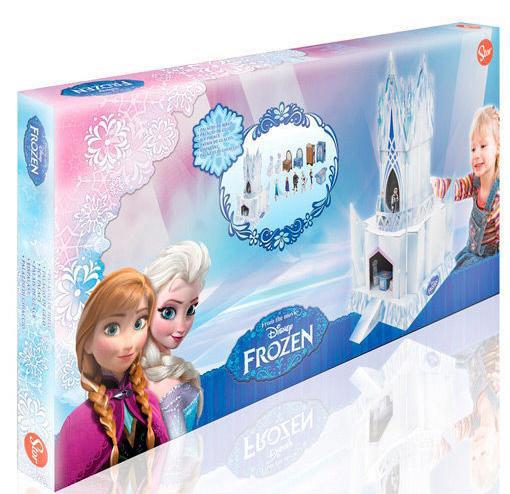 Maqueta de cartón Palacio del Hielo Frozen: El Reino del Hielo