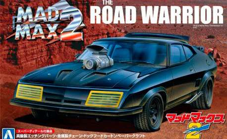 Maqueta vehículo Ford Falcon Interceptor. Mad Max 2. Escala 1:24. Aoshima