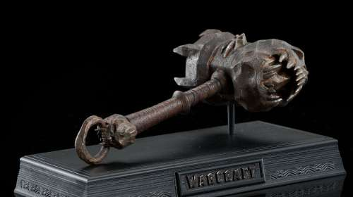 Martillo Skullbreaker Orco guerrero Blackhand 20 cm. Warcraft: El Origen. Escala 1:6. Weta Collectibles
