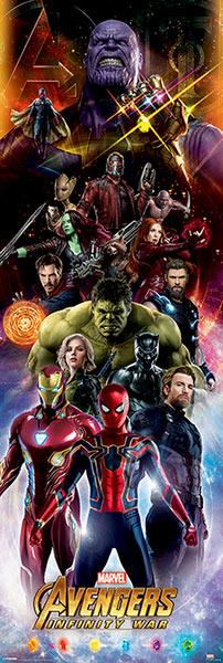 Mega póster Los Vengadores: Infinity War. Portada