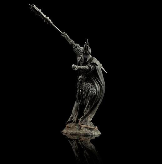 Mini estatua Ringwraith de Forod 8 cm. El Hobbit: La batalla de los Cinco Ejércitos. Escala 1:30. Weta Collectibles