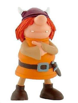 Mini figura Snorre. Vicky el Vikingo