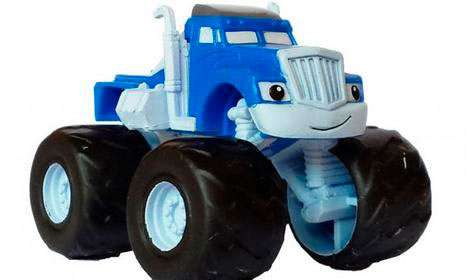 Minifigura Crusher. Blaze and the Monster Machines