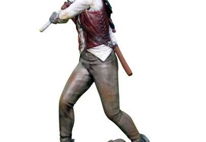 Minifigura Michonne 9 cm. The Walking Dead. Eaglemoss Publications Ltd.