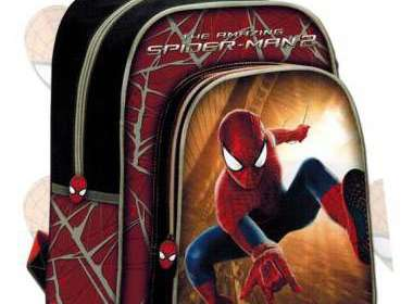 Mochila con carro desmontable Spiderman