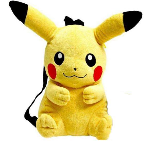 Mochila peluche Pikachu