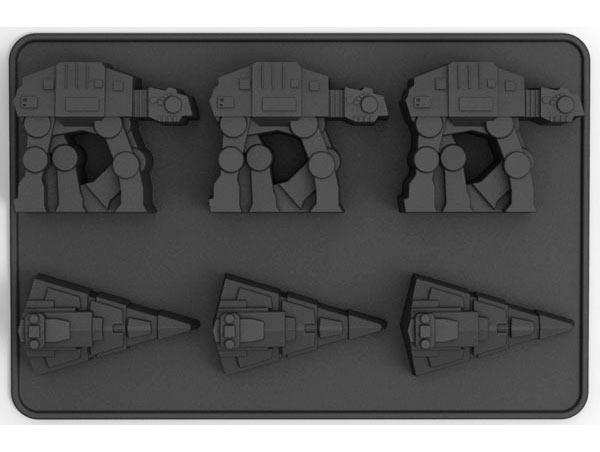 Molde 6 cubitos vehículo AT-AT & Destructor Estelar clase Imperial. Star Wars. Divers