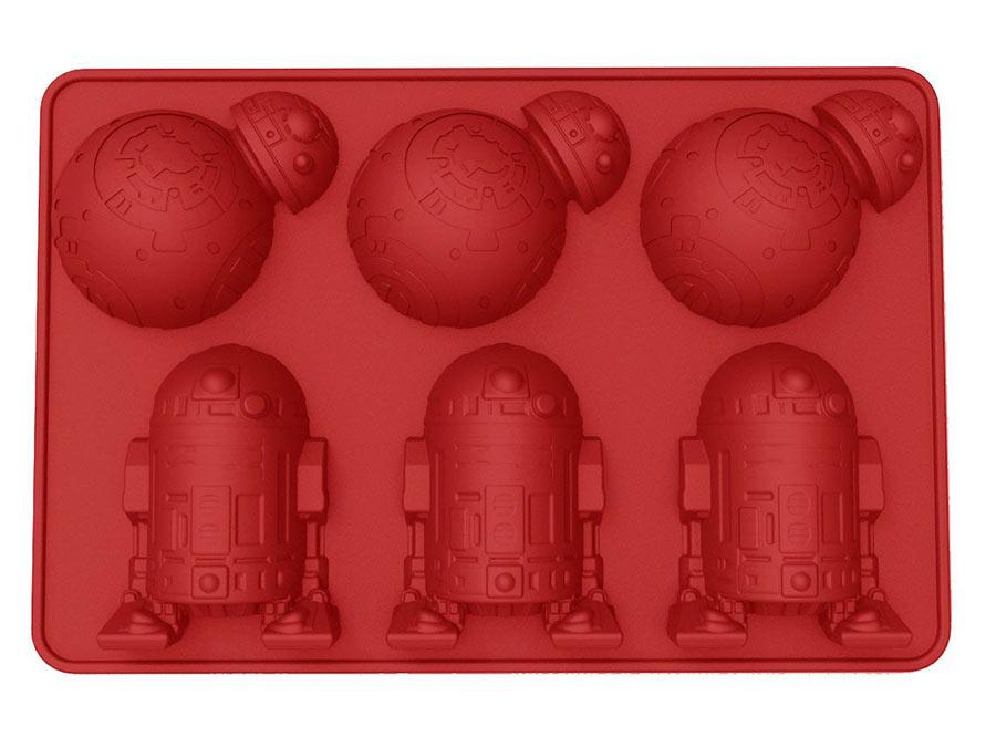 Molde de Silicona BB-8 & R2-D2 Star Wars