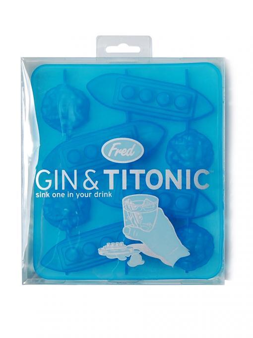 Molde de cubitos Gin & Titonic. Titanic