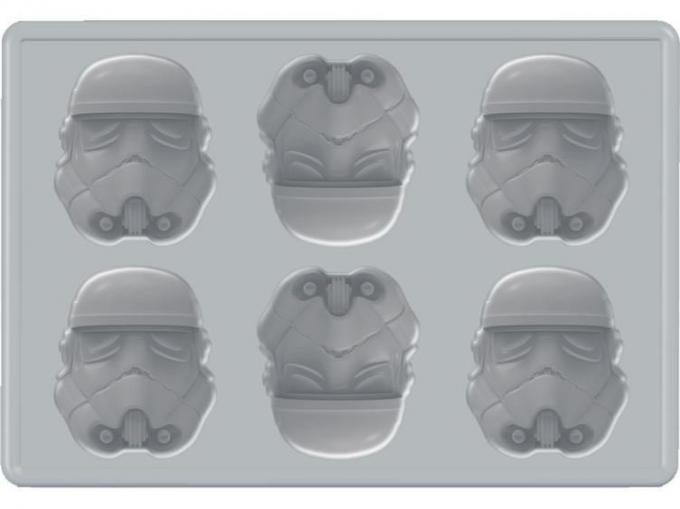 Molde de cubitos Star Wars. Stormtrooper
