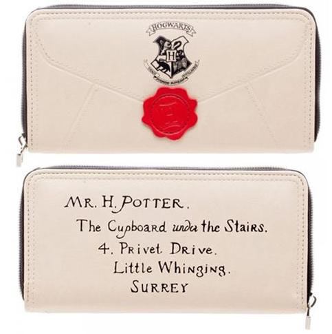 Monedero Carta de Ingreso. Harry Potter