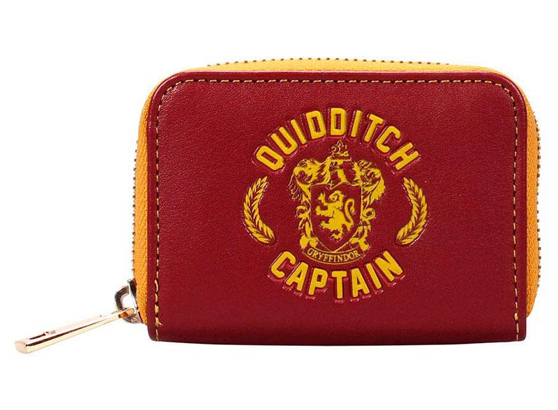 Monedero Harry Potter escudo Quidditch Captain