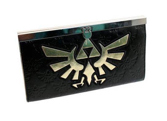Monedero Triforce. The Legend of Zelda