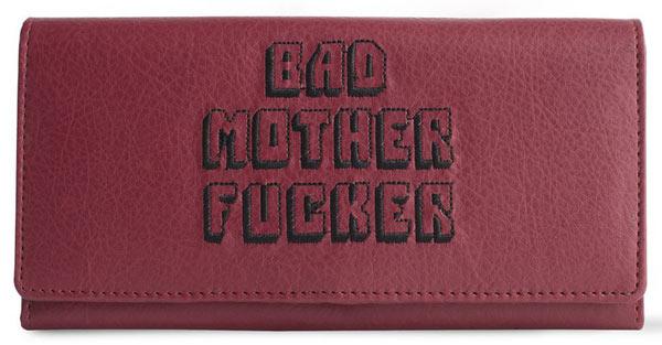 Monedero de Cuero Bad Mother Fucker 15 cm. Pulp Fiction. BMF