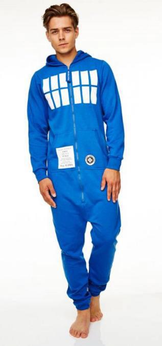 Mono con capucha Doctor Who. Tardis