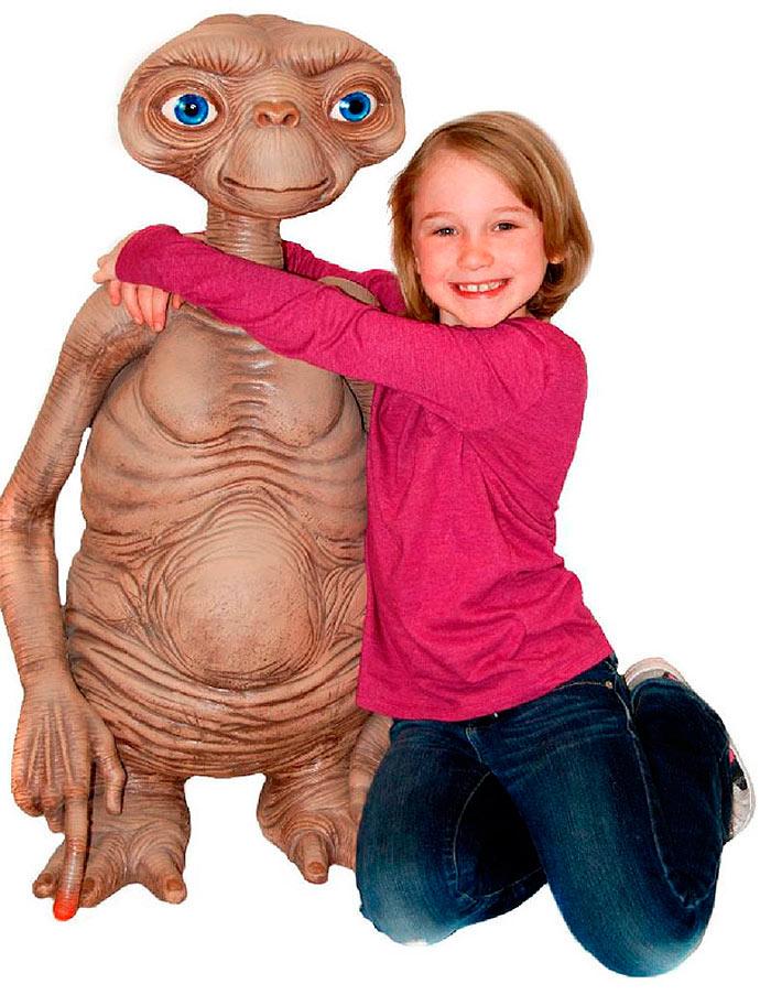 Muñeco E.T. el extraterrestre. Stunt Puppet 91 cm. Escala real