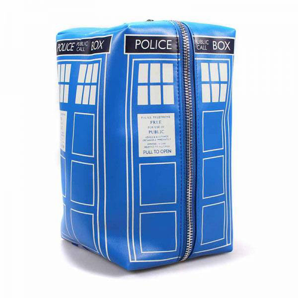 Neceser Cabina Tardis. Doctor Who