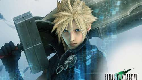 Póster Cloud. Final Fantasy VII