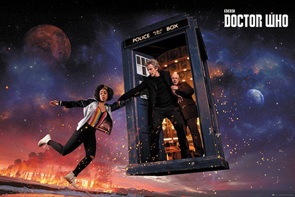 Póster Doctor Who. Temporada 10