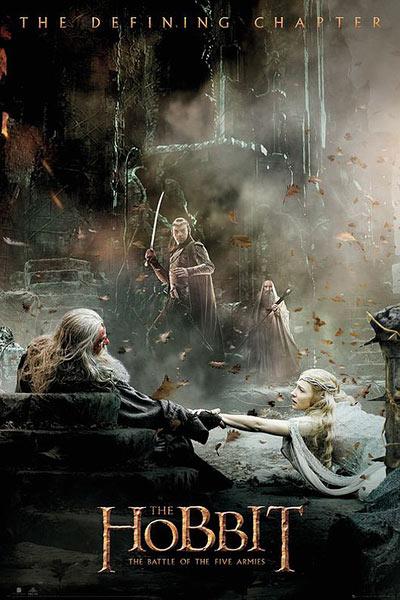 Póster El Hobbit: La Batalla de los Cinco Ejércitos