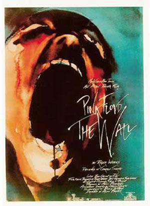 Póster El Muro. Pink Floyd