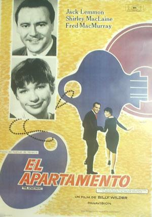 Póster El apartamento