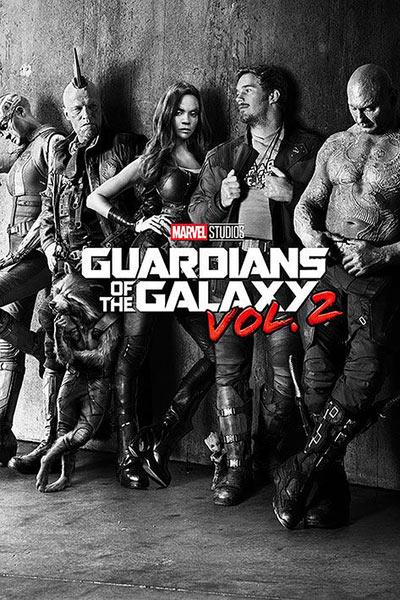 Póster Guardianes de la Galaxia 2