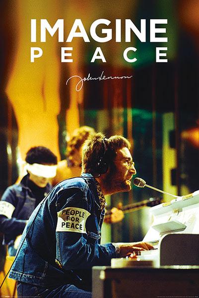 Póster John Lennon. People for Peace