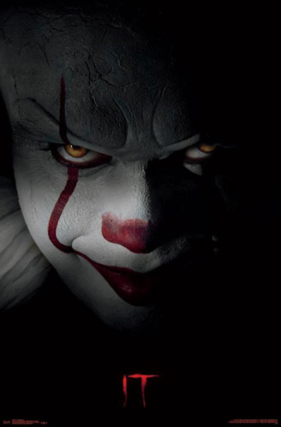 Póster Pennywise. It (Eso) El Payaso Asesino