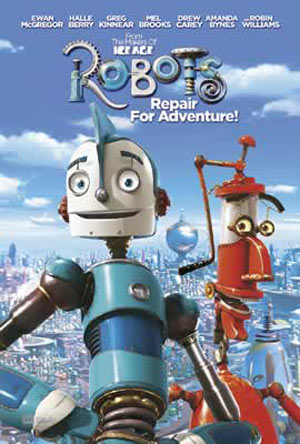 Póster Robots