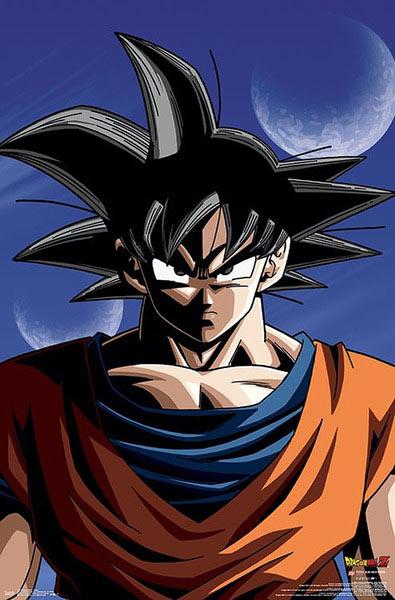 Póster Son Goku. Dragon Ball Z
