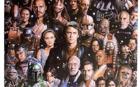 Póster Star Wars Personajes